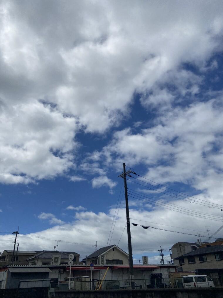 中沢康彦さんの写真 台風はどこへ
